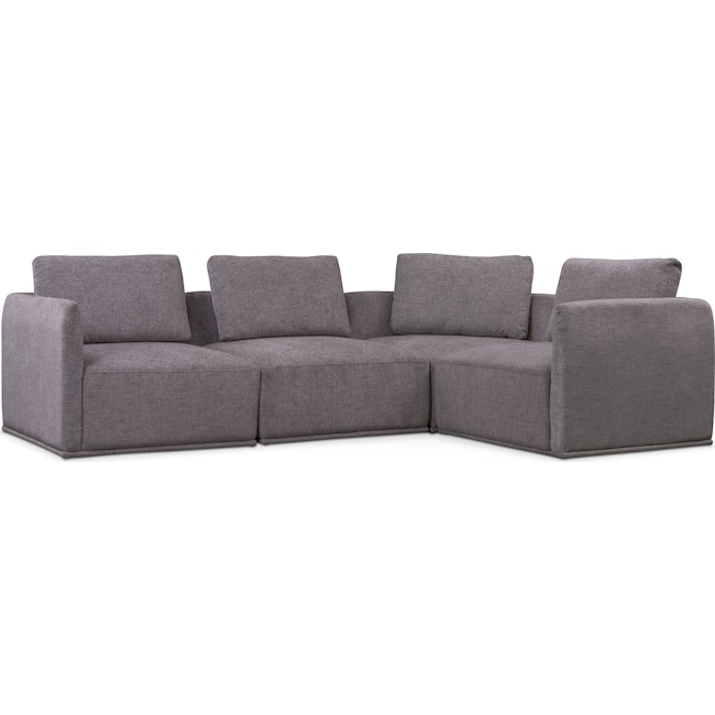 Living Room Furniture - Rio 4-Piece Sectional