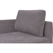 rio gray corner chair