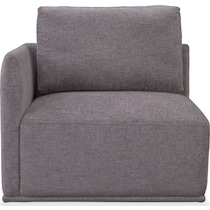 rio gray corner chair