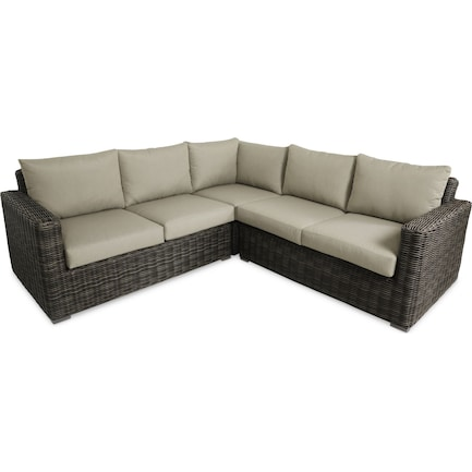 Riverside 3-Piece Outdoor Sectional