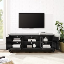 ronald black tv stand