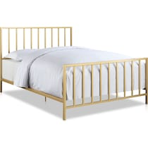 rosanna gold king bed