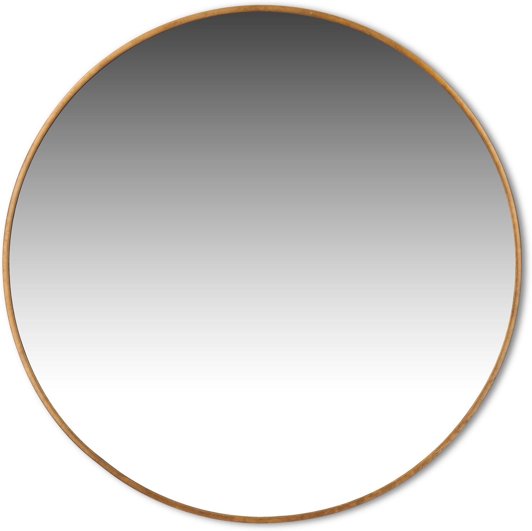 Home Accessories - Large Round Mirror