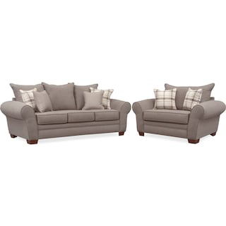 Rowan Sofa Loveseat And Chair And A Half Value City