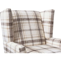 rowan plaid accent chair