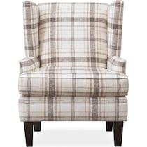 rowan plaid accent chair