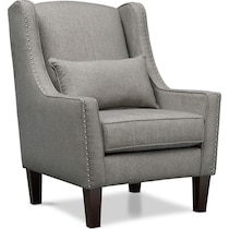 roxie gray accent chair