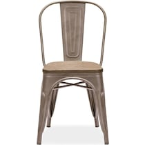 rustica steel  pack chairs