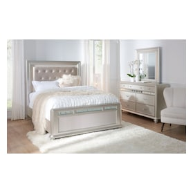Sabrina 5-Piece Bedroom Set with Dresser and Mirror