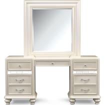 sabrina white vanity