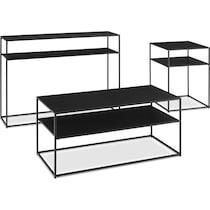 samar black  pack tables