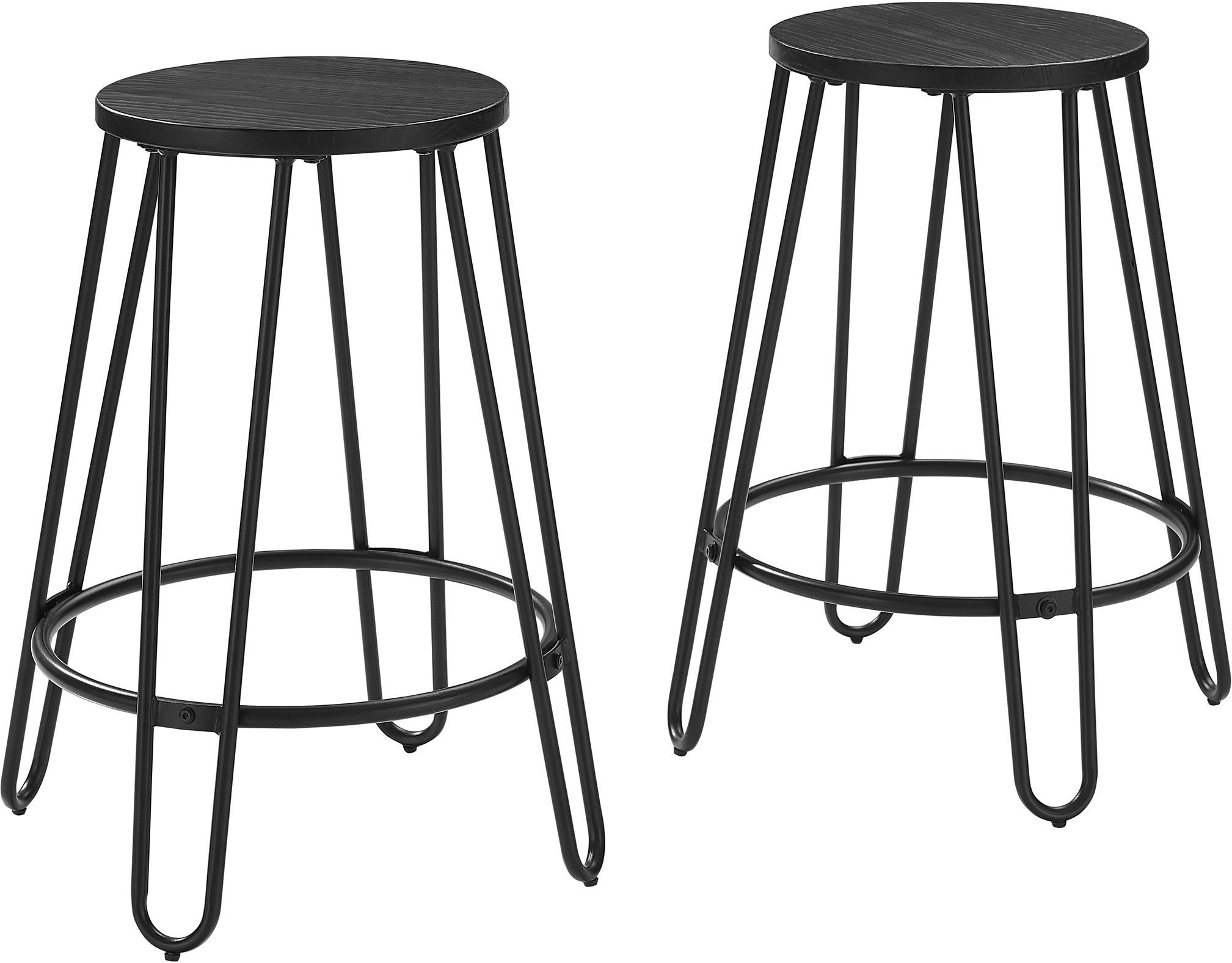 Dining Room Furniture - Sami Set of 2 Counter-Height Stools