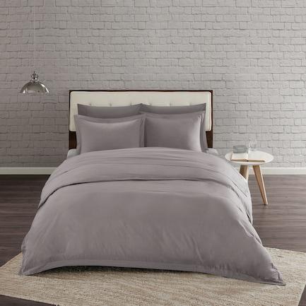 Sandra Twin/Twin XL Duvet Set - Gray