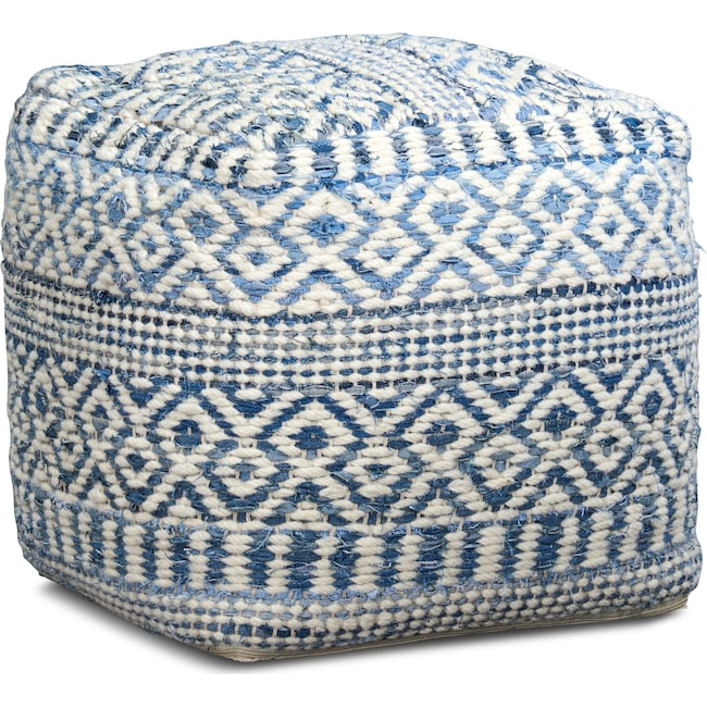Accent and Occasional Furniture - Sarah Pouf