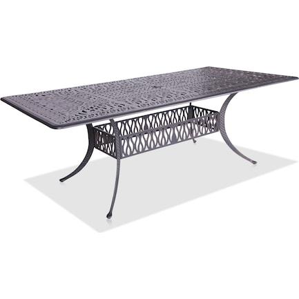 "Seabrook Outdoor 84"" Rectangular Table"