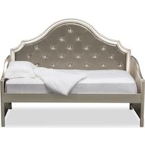 serena youth platinum silver daybed