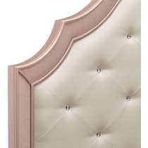 serena youth rose quartz pink twin bed