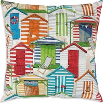 shack multicolor outdoor pillow