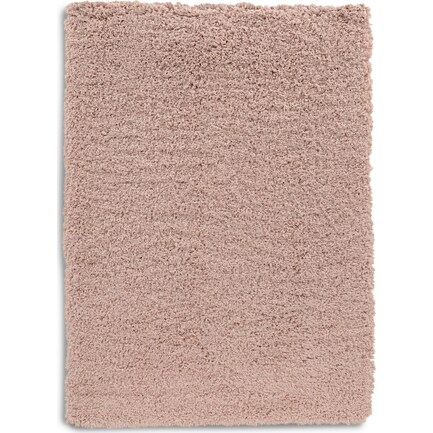 Shaggy 5 X 7 Area Rug - Blush