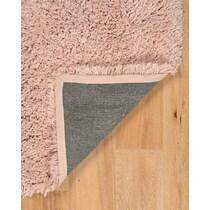 shaggy pink area rug ' x '