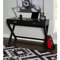 shelby black desk