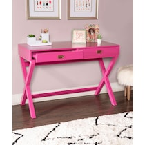 shelby pink desk