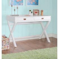 shelby white desk