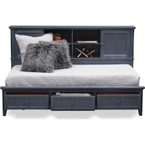 sidney blue full lounge bed
