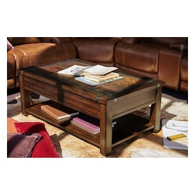 Slate Ridge Lift-Top Coffee Table