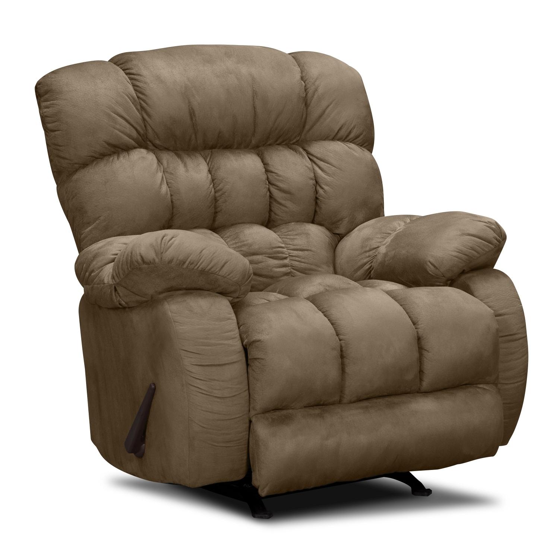 Living Room Furniture - Sonic Rocker Recliner