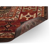 sonoma chocolate red chocolate and red area rug ' x '