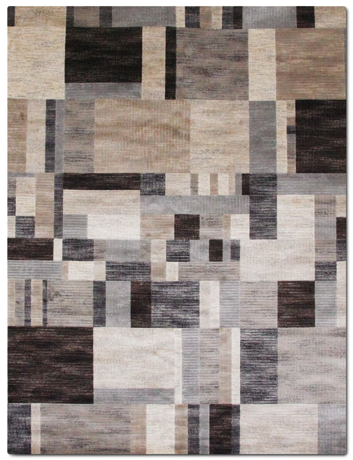 Rugs - Sonoma Clark Area Rug - Gray and Blue