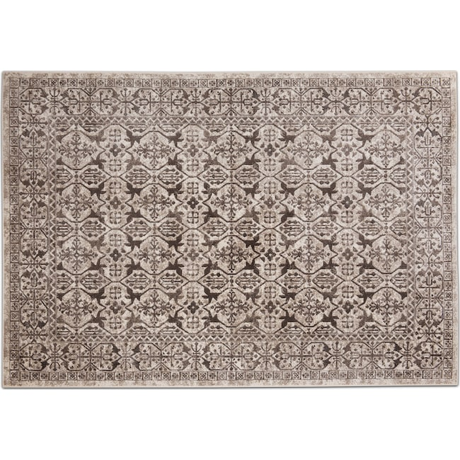 Rugs - Sonoma Area Rug - Gray and Natural
