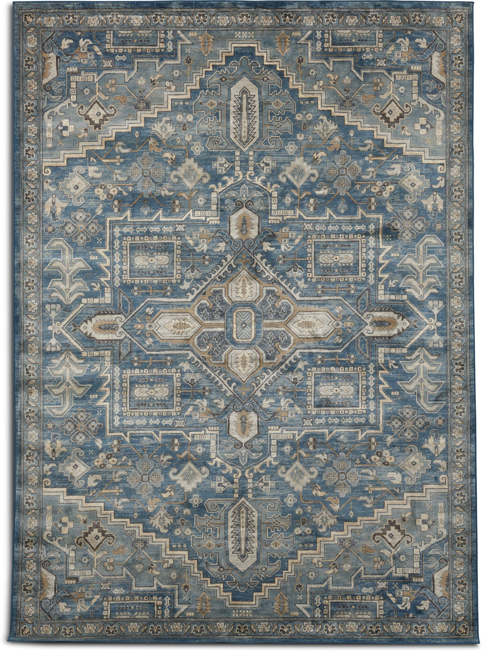 Rugs - Sonoma Area Rug - Blue