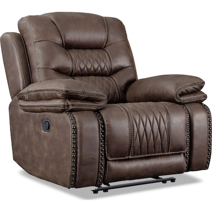 Sorrento Manual Recliner - Brown