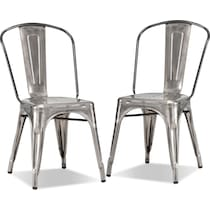 squadron stainless steel  pack chairs