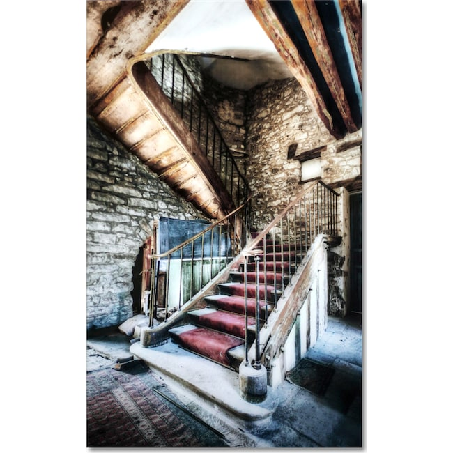 Home Accessories - Stairs on Glass Wall Art