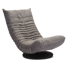 Swivel Gaming Chair - Gray