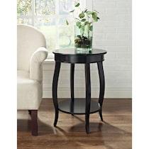 sydney black side table