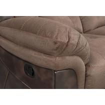 tacoma manual dark brown sofa