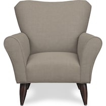 tallulah light brown accent chair