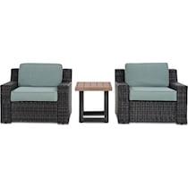 tethys mist outdoor chair set