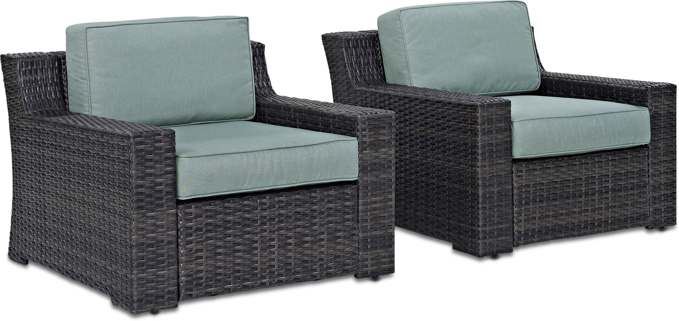 Outdoor Furniture - Tethys Set of 2 Outdoor Chairs