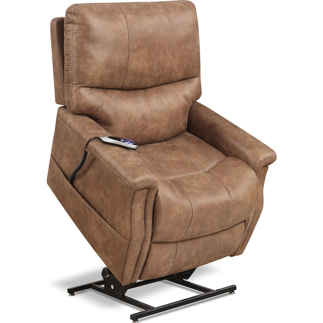 Living Room Furniture - Teton Power Lift Recliner