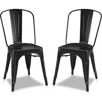 tori black dining chair