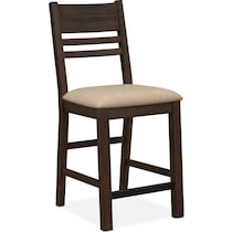tribeca ch dining tobacco counter height chair