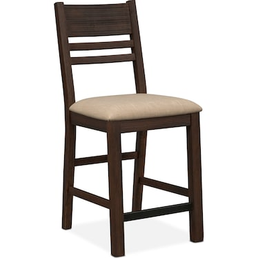 Tribeca Counter-Height Dining Chair - Tobacco