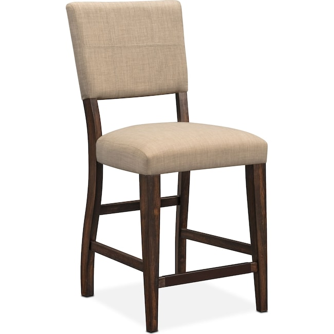 Dining Room Furniture - Tribeca Counter-Height Upholstered Dining Chair