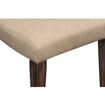tribeca dining tobacco upholstered side chair
