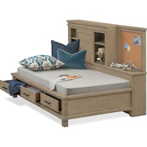 tribeca youth gray full bed